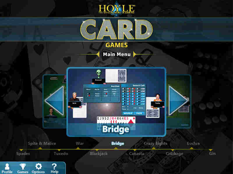 Screen Shots for Hoyle Card Games 2012
