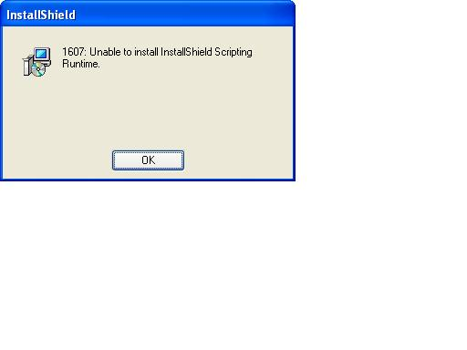 Unable to install Installshield scripting in - NETGEAR Communities